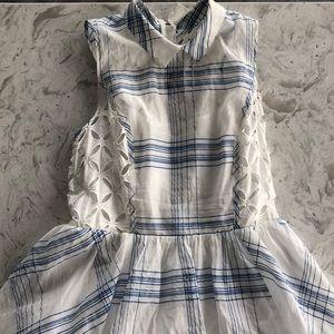 Cutout Peter Pan Collar Dress